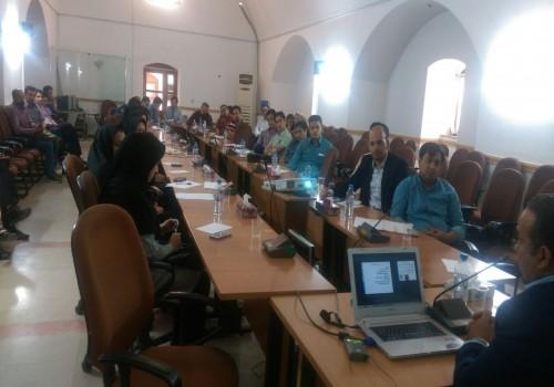 طراحی انجمن صنفی کارگری مسئولین ایمنی و بهداشت کار یزد