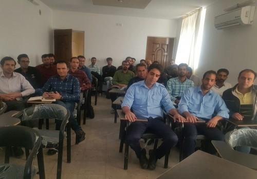 بنر انجمن صنفی کارگری مسئولین ایمنی و بهداشت کار یزد